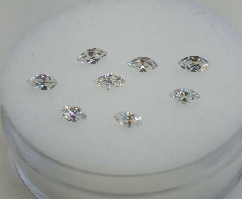 Fabulite strontium titanate ClearAntique/Vintage gemstone.new antique stock fb92