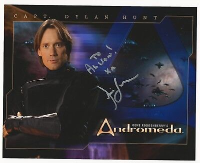- Kevin Sorbo Signed Autographed 8x10 Photo Picture Andromeda Actor