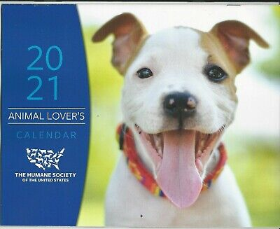 The Humane Society of the United States - Animal Lover's - 2021 Calendar