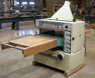 Extrema 24 X 9 Power Planer With 10 Hp Motor And Helical Carbide Cutter Head