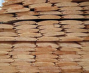 £1 per metre A* Grade Scandinavian LOGLAP Tongue & Groove Timber Cladding