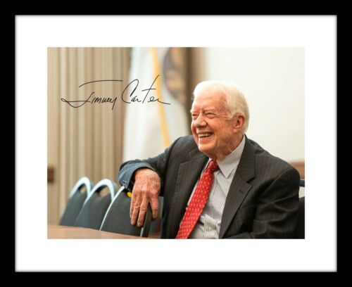 Jimmy Carter Signed 8x10 Photo Print Autographed US President Democrat
