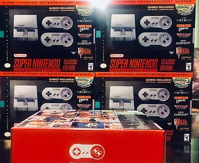 Super Nintendo Entertainment System  Super Nes Classic Edition  Free Shipping