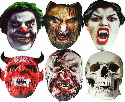 Vampire Themed Halloween Party (HALLOWEEN PARTY FUN & SCARY! - CARD FACE MASKS HORROR THEME VAMPIRE, ZOMBIE)