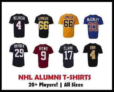Old Time Hockey NHL Alumni T-Shirt! NHL Teams, S M L XL XL NHLPA Legends Apparel