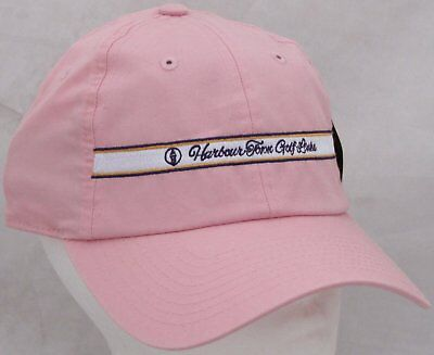 Harbour Town Golf (Harbour Town Golf Links Club Course Hat Cap Pink Unisex One Size (Small Fit))