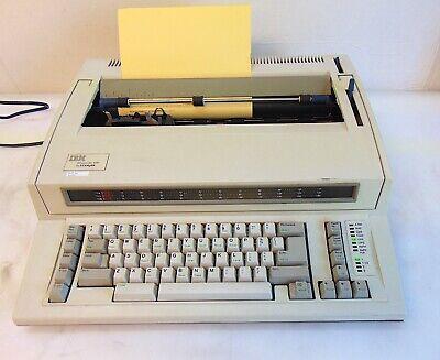 Ibm Wheelwriter 1000 By Lexmark Electronic Typewriter - Tested Working S5981