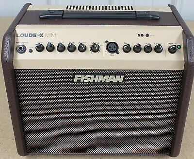 Fishman PROLBT500 Loudbox Mini Amplifier Bluetooth 2 Channel Mic and Instrument