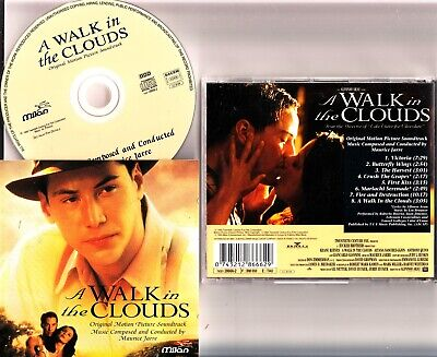 A WALK IN THE CLOUDS- 1995 Keanu Reeves Movie Soundtrack CD MAURICE JARRE