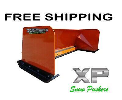 8 Xp24 Kubota Orange Snow Pusher Box Free Shipping Skid Steer Bobcat Case