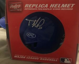 Replica autographed blue jays mini helmet