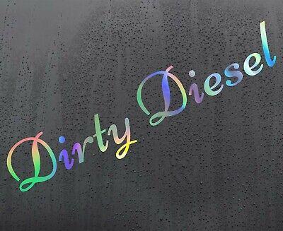 200mm Dirty Diesel Sticker Decal Graphic JDM DUB EURO FUNNY CAR VINYL 20cm