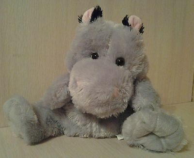 "Rhinocerous Hand  Puppet Full Body Plush 10"" stuffed animal"
