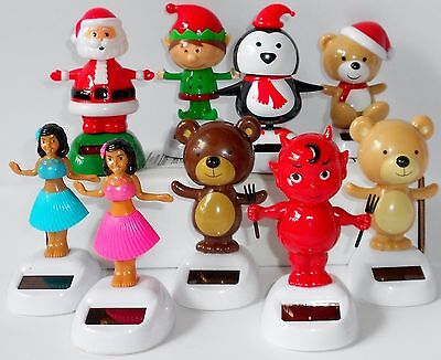dancing solar powered figures new in package