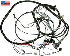 front end headlight wiring harness w/ hidden headlights