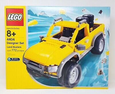 LEGO Designer Set 4404 Land Busters SEALED RARE VEHICHLES TRUCK RACE CAR