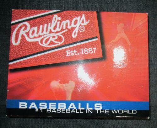Rawlings Raised Seam Baseballs, Senior Little League Baseballs, Dozen in Box