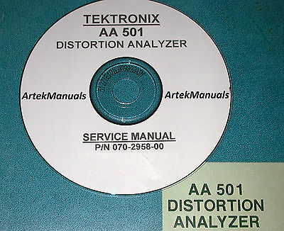 Tektronix Aa501 Instruction Manual Service Ops