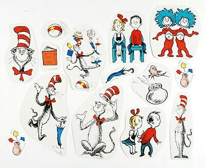 Eureka 840224 Dr. Seuss Cat in Hat 2 Sided Characters Classroom Decorations