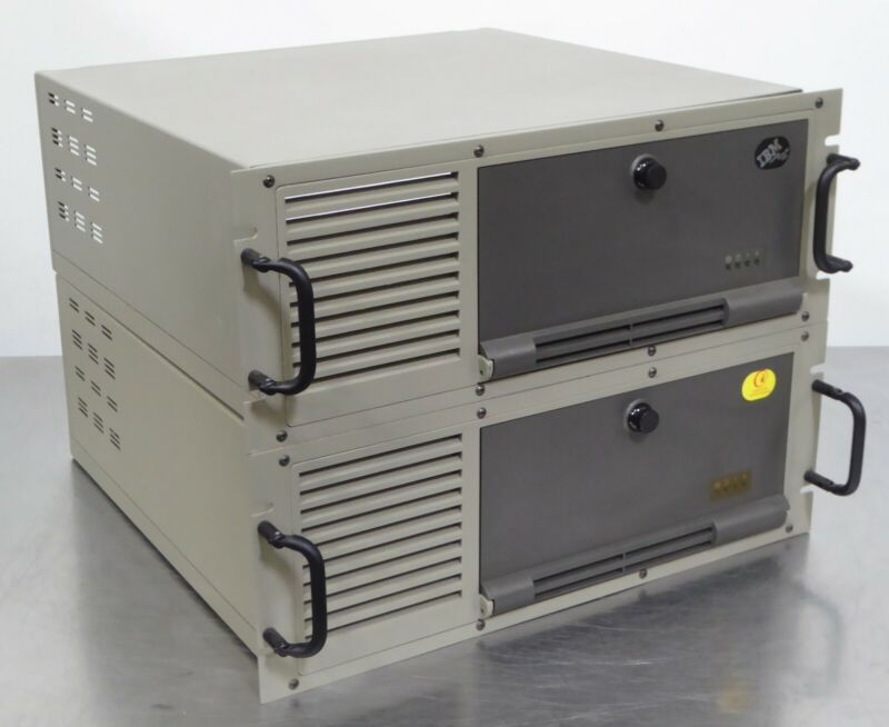 T158881 Lot (2) IBM 7585 Industrial Computer Cases
