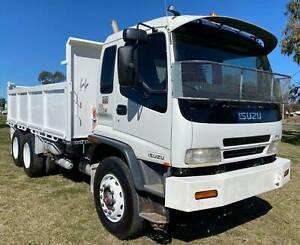 Isuzu FVZ1400 Medium 6x4 Tipper/Tipping Tray Truck. Ex Council Inverell Inverell Area Preview