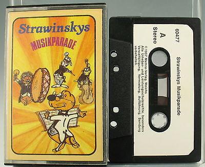 HÖRSPIEL - Strawinsky Musikparade - christliche MC Kassette - 60477 (Kinder, Christliche Musik)