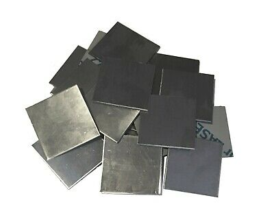 10pc 304 Stainless Steel 2 X 2 16ga .060 Square Metal Sheet Plate Weld Cap