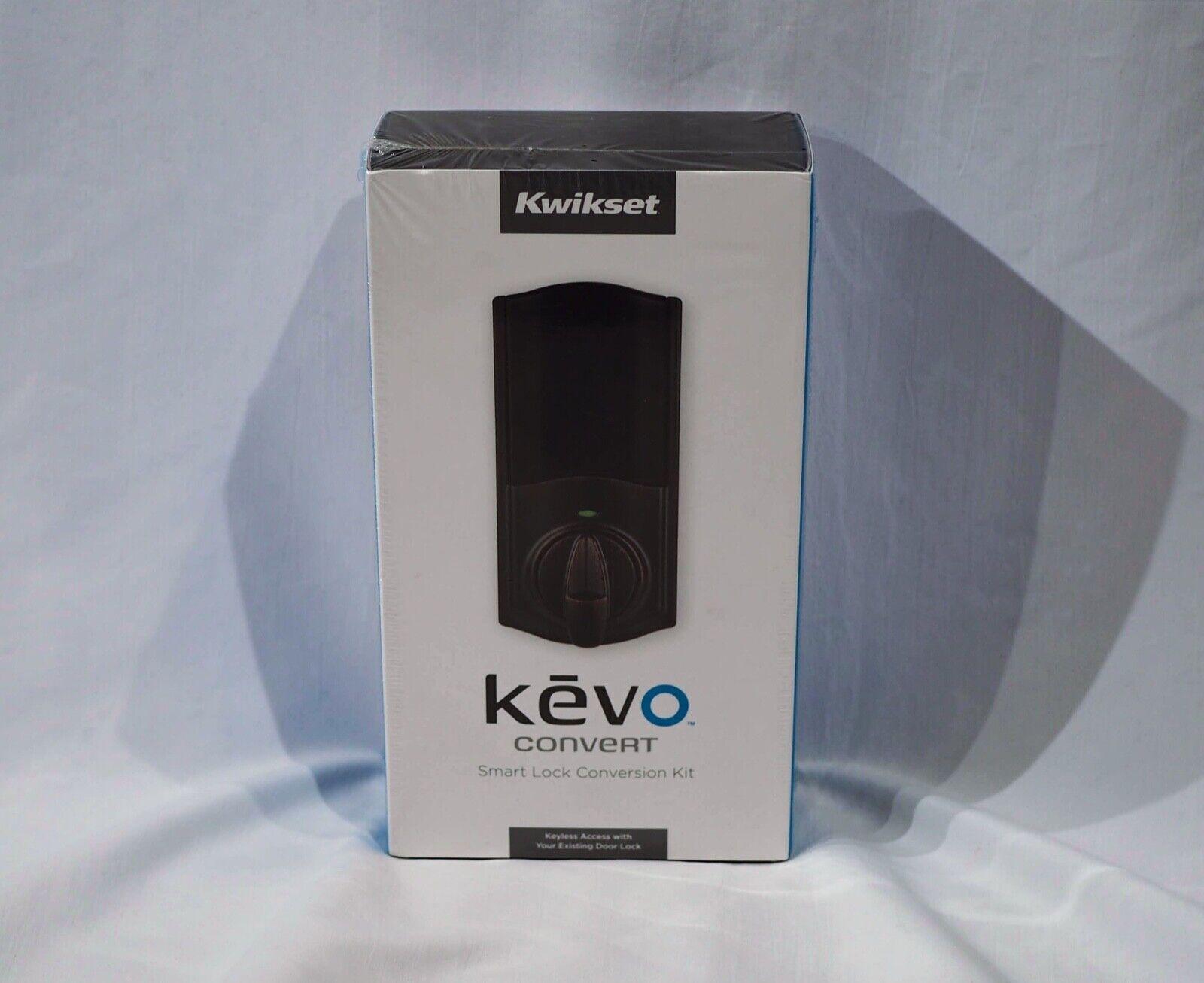 Kwikset Kevo Convert Smart Lock in Venetian Bronze Conversio