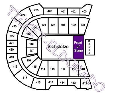 OZZY OSBOURNE Judas Priest Prag Front of Stage Tickets Karten 28.01.2022 München