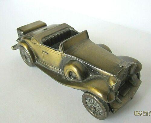VINTAGE DIE CAST METAL 1930 CADALLAC CAR BANK, BANTHRICO, Inc