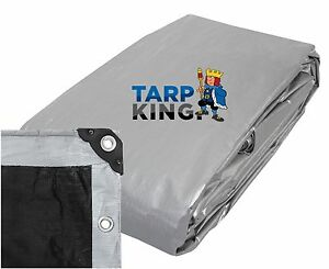 High Quality Heavy Duty Poly Tarp 5.8m x 7.0m (19' x 23')