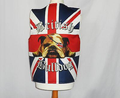 Lustige Neuheit Weste Britische Bulldoge Kostüm Spass Geschenkidee Party