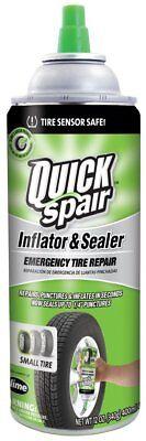 Slime Quick Spair Emergency Tire Repair Inflator / Sealer Spray 12 OZ 60188 ()