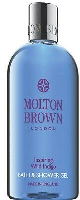 NEW Molton Brown Inspiring Wild Indigo Bath & Shower Gel 300ml