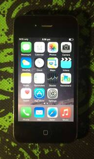 iPhone 4s 32G unlocked with USB cable and Charger new condition Rockdale Rockdale Area Preview