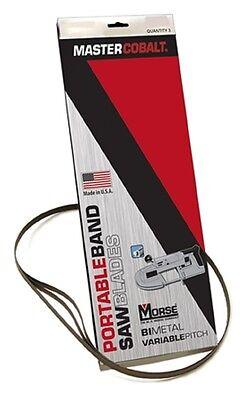 MK Morse ZWEP322024MC 32-7/8 x 20/24 tpi Bi-Metal Portable Band Saw Blade 3 pk ()