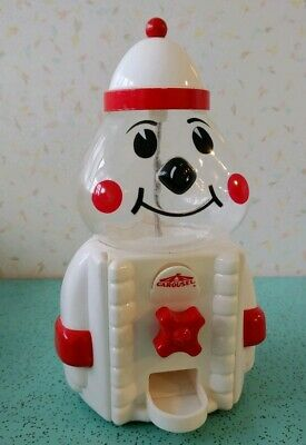 Gumball Machine Clown Plastic Carousel Industries Vintage