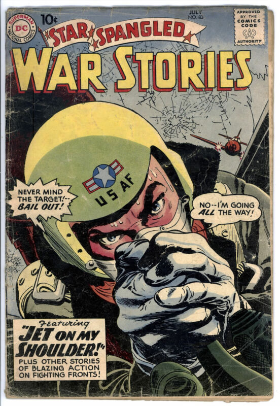STAR SPANGLED WAR STORIES #83