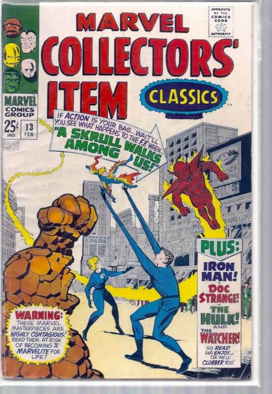 MARVEL COLLECTORS ITEM CLASSICS #13