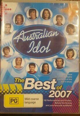 AUSTRALIAN IDOL THE BEST OF 2007 RARE DVD MUSIC TV SERIES SHOW FINALS &