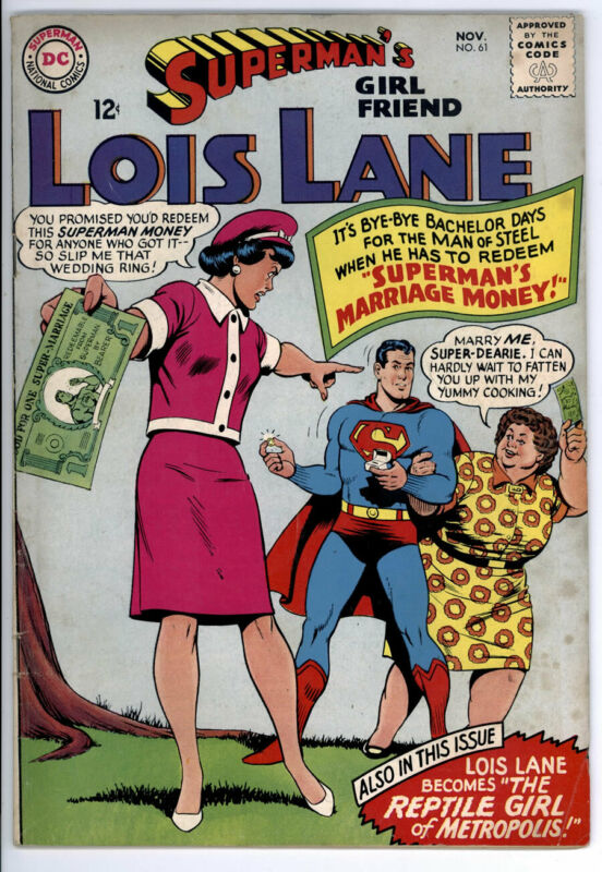 SUPERMANS GIRLFRIEND LOIS LANE #61