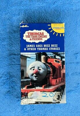 JAMES GOES BUZZ BUZZ & OTHER THOMAS STORIES VHS Tape 1991 George Carlin