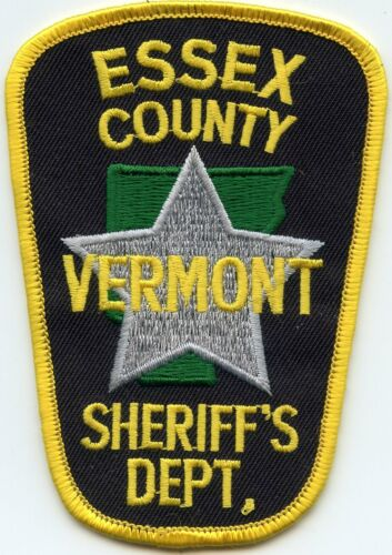 ESSEX COUNTY VERMONT VT SHERIFF POLICE PATCH
