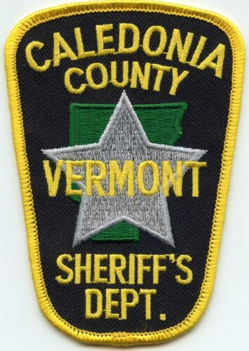 CALEDONIA COUNTY VERMONT VT SHERIFF POLICE PATCH
