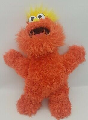 "Sesame Street Sesame Place 16"" Murray Monster Plush Toy 2012 Furry Soft"