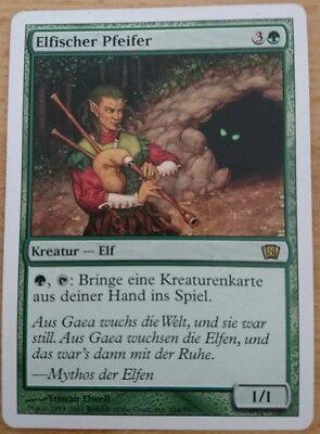 1x Elvish Piper elfischer pfeifer deutsch 8. Edition MTG Magic