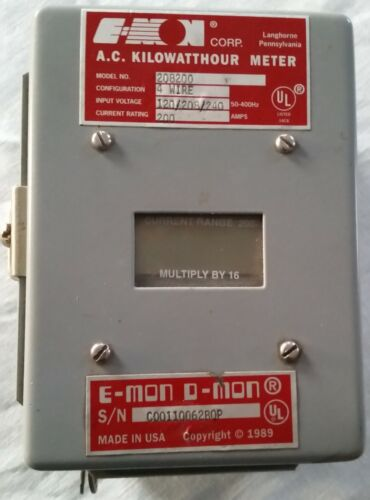 A.C. 3Phase Kilowatt Hour Meter