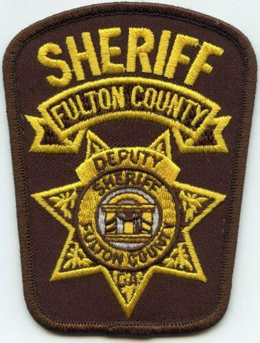 FULTON COUNTY GEORGIA GA used DEPUTY SHERIFF POLICE PATCH