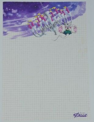 Diddl ein Blatt A4 super selten Sammlung Abhängen Kronleuchter RAR