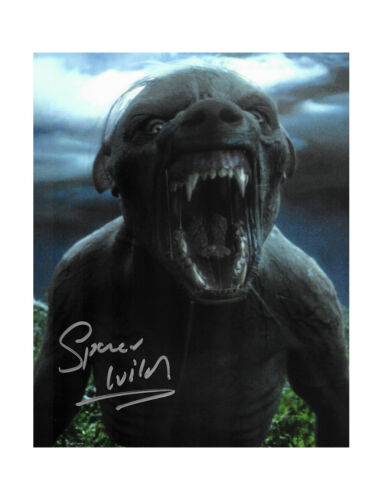 """8x10"""" Harry Potter Werewolf Lupin Print Signed by Spencer Wilding 100% + COA"""